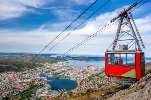 Norway - Cable Railway in Bergen