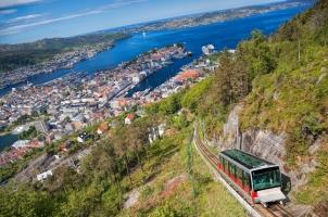 Norway - View from Floyen in Bergen