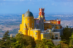 Portugal - Pena palace in Sintra