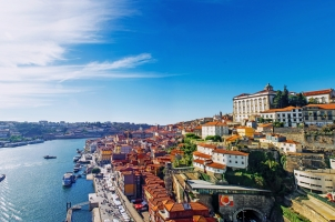 Portugal - old town skyline