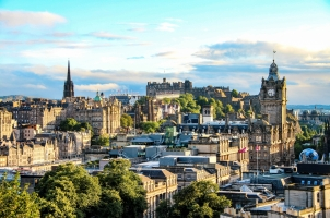 Scotland - Edinburgh skyline
