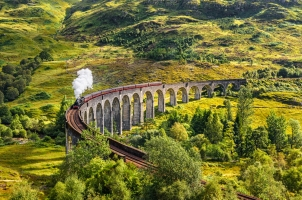 Scotland - Glenfinnan Railway Viaduct