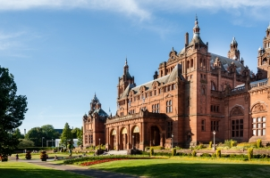 Scotland - Kelvingrove Art Gallery and Museum in Glasgow