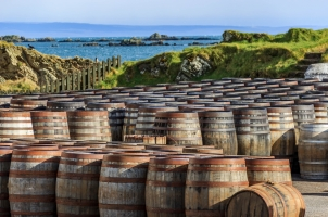 Scotland - whisky barrels