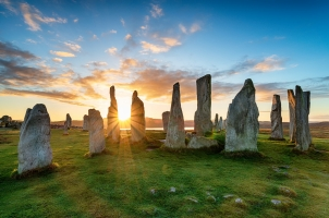 Scotland - stone circle at Callansish