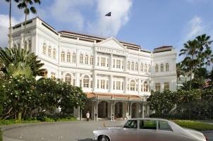 Singapore - Raffles Hotel Facade
