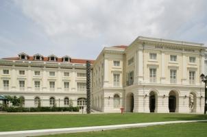 Singapore - national museum Facade