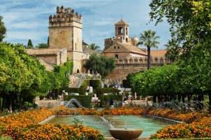 Spain - Alcazar de los reyes cristianos