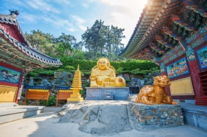 Südkorea - Haedong Yonggungsa Temple in Busan