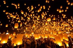 Thailand - Firework Festival Chiang Mai