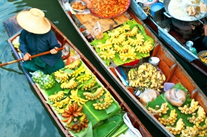 Thailand - Floating Market Bangkok
