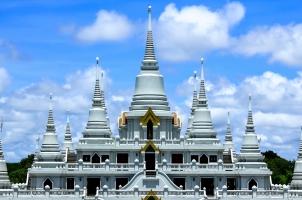 Thailand - Pagoda white