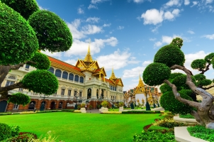 Thailand - Royal grand palace in Bangkok