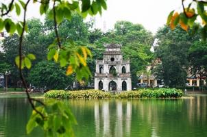 Vietnam - Hanoi - Hoan Kiem lake