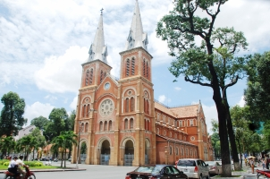 Vietnam - Saigon - Notre Dame Cathedral