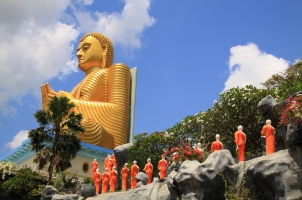 Sri Lanka - Golden Buddha