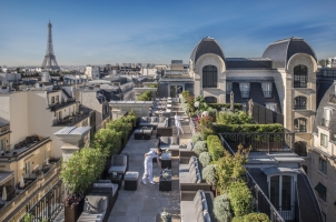 The Peninsula Paris - Rooftop