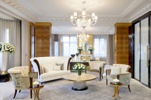 The Peninsula Paris - Suite Living Room