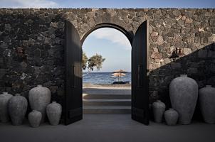 Istoria Santorini - Entrance