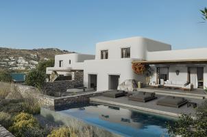 Mykonos - KALESMA - both Villas