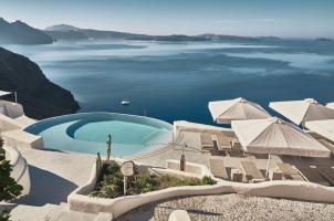 Mystique Santorini - Infinity Pool