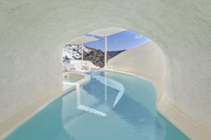 Mystique Santorini - Villa Cave Pool