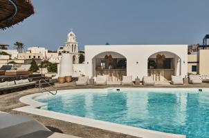 Vedema Santorini - Main Pool and Pool Bar