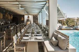 Vedema Santorini - Pergola Restaurant