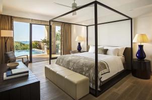 The Romanos Costa Navarino - Infinity Villa Bedroom