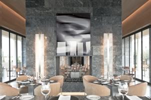 Amanzoe - Dining Room