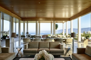 Amanzoe - Villa living room
