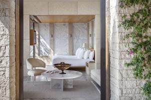 Amanzoe - Pavilion bedroom