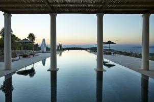 Amanzoe - Villa pool views