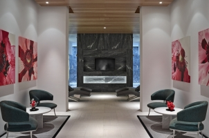 Amanzoe - Spa relaxation area