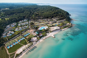 Sani Club - Sea Overview