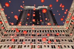 The Peninsula Hong Kong - decoration at the hotel