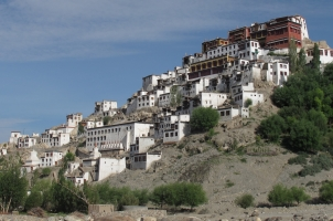 The Ultimate Travelling Camp - Thiksey Monastery