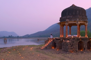 Amanbagh - Dinner at Small Chhatri