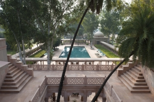 Amanbagh - Roof Terrace