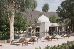 Amanbagh - Poolside Loungers
