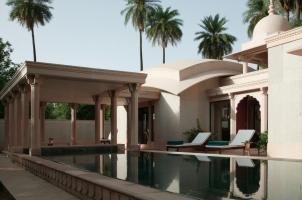 Amanbagh - Pool pavilion pool