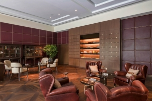 The Oberoi New Delhi - cigar lounge