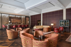 The Oberoi New Delhi - the club bar