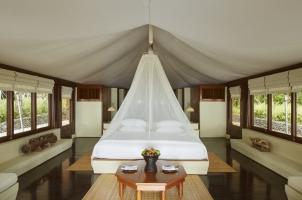 Amanwana - Tent interior