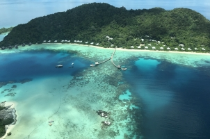 Bawah Reserve - Island View from Seaplane