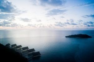 Bawah Reserve - Overwater view