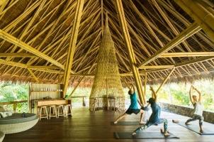 Bawah Reserve - Yoga Deck