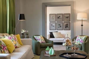 Hotel de Russie - Suite Living Design
