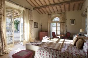 Rosewood Castiglion del Bosco - Villa Bedroom