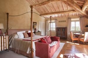 Rosewood Castiglion del Bosco - Villa Stabbi Bedroom